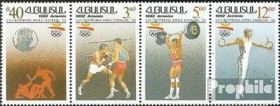 armenia 199-202 quad strip unmounted mint / never hinged 1992 Olympics Summer ´9