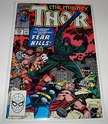 The Mighty THOR # 418 Marvel Comic  June 1990    FN