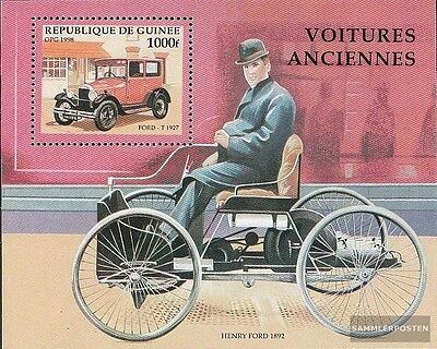 Guinea block524 unmounted mint / never hinged 1998 Old Automotive