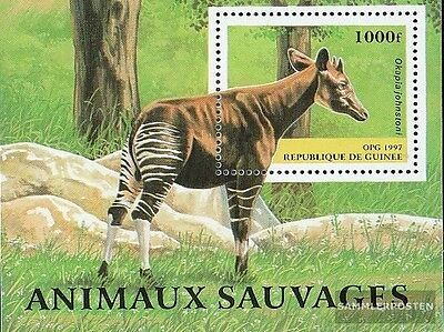 Guinea Block508 (complete.issue.) unmounted mint / never hinged 1997 Locals Anim