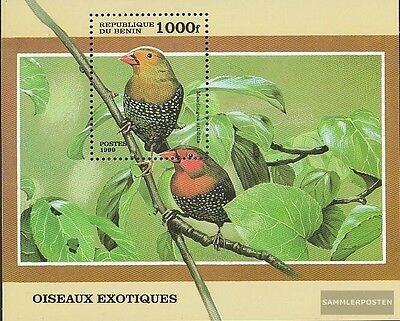 Benin block45 unmounted mint / never hinged 1999 Small Birds out all World