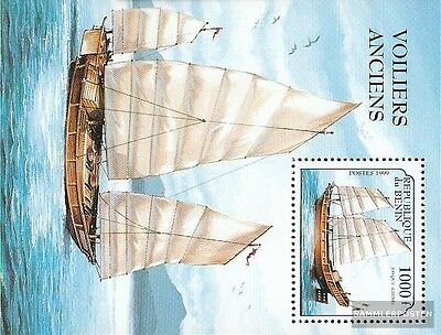 Benin Block46 (complete.issue.) unmounted mint / never hinged 1999 Sailboats