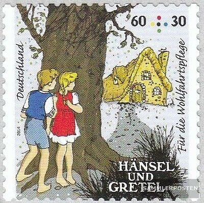 FRD (FR.Germany) 3061 selbstklebende issueabe fine used / cancelled 2014 Grimm F