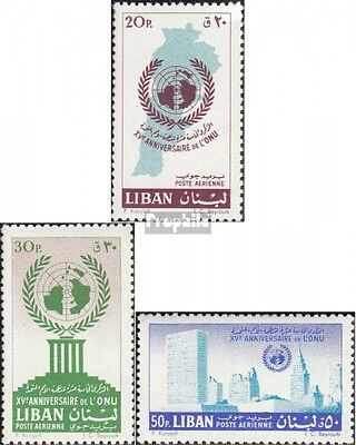 lebanon 709I A-711I A (complete.issue.) unmounted mint / never hinged 1961 15 ye