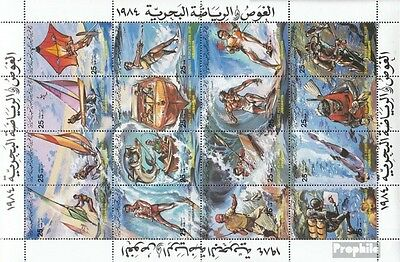 Libya 1253-1268 ZD-archery unmounted mint / never hinged 1984 Water