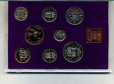 Great Britain 1970 8 Coin Proof Set