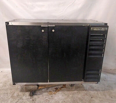Beverage Air 2 Door Back Bar Cooler Bar Refrigerator Bb48-1