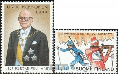 Finland 870,873 (complete issue) unmounted mint / never hinged 1980 special stam