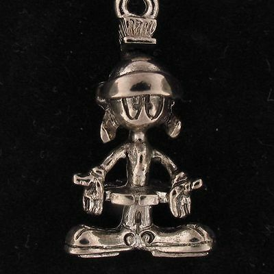 CHARM Marvin The Martian WARNER BROS LOONEY TUNES WB STORE Silver WB 4186