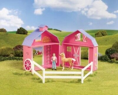 BREYER - Stablemates Small Pocket Barn Set  FREE US SHIPPING