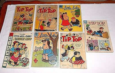 Vintage Comic Books Mixed Lot Of 7