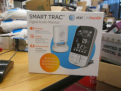 New At&t Smart Trac Digital Audio Monitor #05000