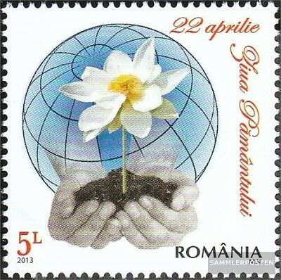 Romania 6701 (complete.issue.) unmounted mint / never hinged 2013 Day the Earth
