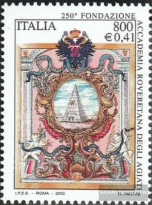 Italy 2730 (complete.issue.) unmounted mint / never hinged 2000 accademia Rovere
