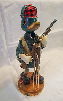 "Nutquacking Duck Hunter 13"" Heirloom Collectibles"