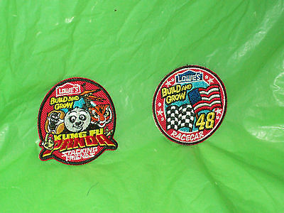 Lowe's Kids Patches - Kung Fu Panda & # 48 Racecar Patches