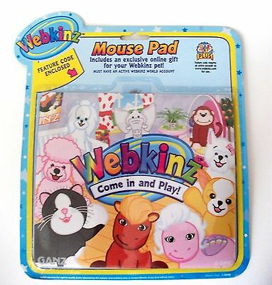 Kids Computer Mouse Pad WEBKINZ Hanging At The Pad Animals
