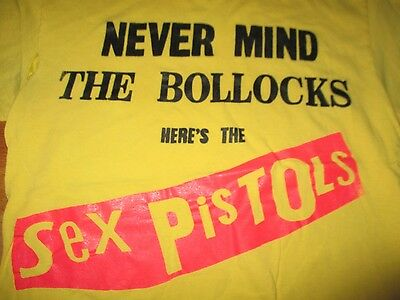 """Never Mind The Bollocks Here's The SEX PISTOLS"" (SM) T-Shirt"