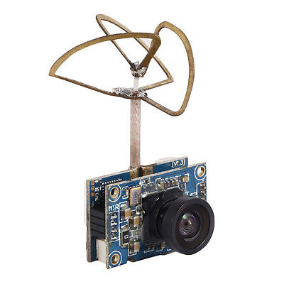 4-Axle 5.8G Mini Wireless 40CH 25mw Camera Transmitter for Indoor Racing Drone
