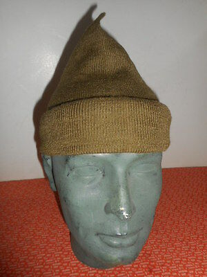 G.BRITAIN ARMY :: WWII  COMMANDO WOOL CAP or SCARF COMFORTER  NICE