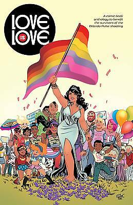 Love is Love One shot 1st comics app of Harry Potter DC/IDW 1st Print NM
