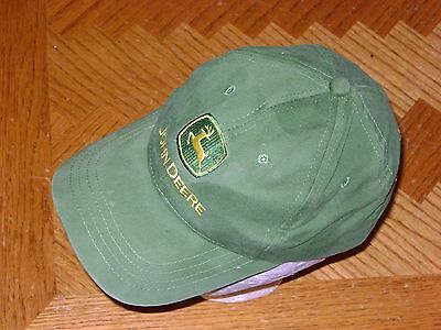 Adjustable Toddler Size Green JOHN DEERE Nothing Runs Like a Baseball Cap Hat