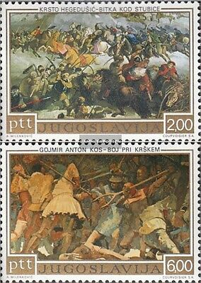 Yugoslavia 1495-1496 (complete.issue.) unmounted mint / never hinged 1973 uprisi