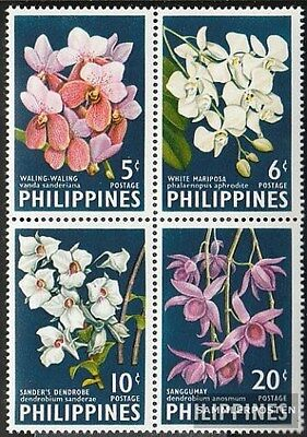 Philippines 692A-695A block of four (complete.issue.) unmounted mint / never hin