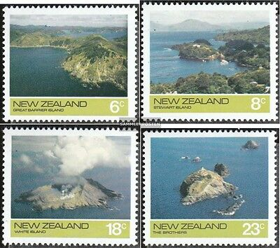 New Zealand 643-646 (complete.issue.) unmounted mint / never hinged 1974 Islands