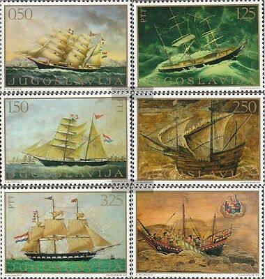 Yugoslavia 1336-1341 (complete.issue.) unmounted mint / never hinged 1969 Ship P
