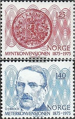 Norway 703-704 (complete.issue.) unmounted mint / never hinged 1975 münzkonventi