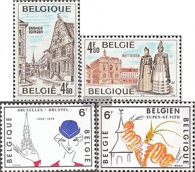 Belgium 1959-1962 (complete.issue.) unmounted mint / never hinged 1978 Tourism