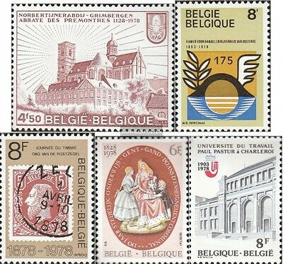 Belgium 1940,1941,1942,1957-1958 (complete.issue.) unmounted mint / never hinged