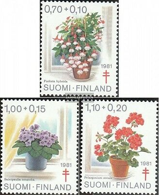 Finland 885-887 (complete.issue.) unmounted mint / never hinged 1981 Tuberculosi