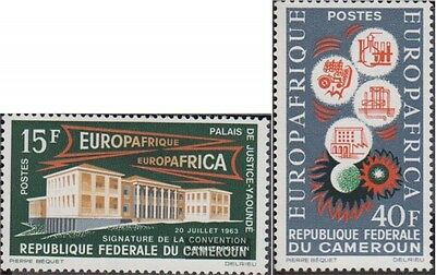 Cameroon 408-409 (complete.issue.) unmounted mint / never hinged 1964 Europafriq