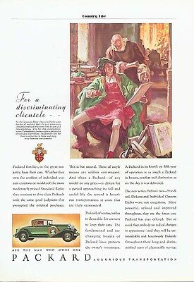 Packard Families keep theirs Convertible Cpe ad 1931