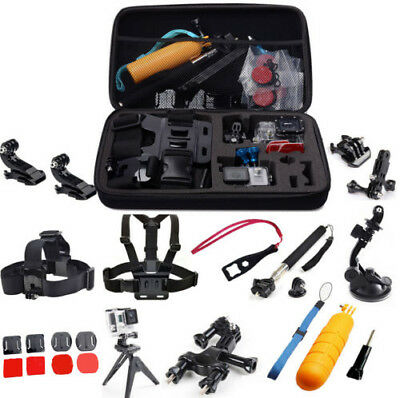 All-in-1 Professional Accessories Kit for GoPro Hero 5 4S 4 3+3 SJ9000 Xiaomi Yi