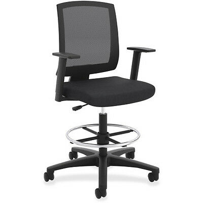 Basyx by HON Basyx Center-tilt Mesh Mid-back Task Stool VL515LH10