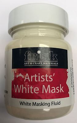Frisk 60ml Masking Fluid in White or Blue
