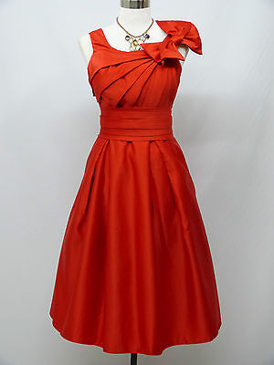 Cherlone Red Formal Prom Ball Wedding Evening Bridesmaid Dress Size 12-24