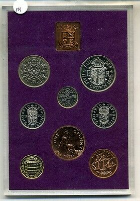 1970 Great Britain 8 Coin Proof Set 149D