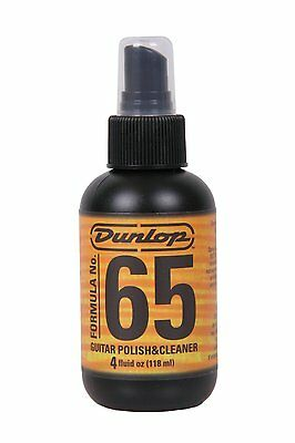 Jim Dunlop 654 Formula 65 Guitar Polish & Cleaner 4oz. for GUITARS