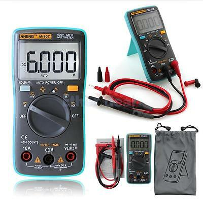 Digital Multimeter ( Spannungsmesser Stromprüfer Widerstand Temperatur )