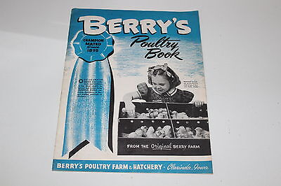 Vintage Berry's Poultry Book 1960s Catalog and Pricing