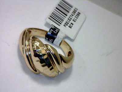 EXCELLENT 10K SOLID YELLOW GOLD DOME BAND size 7.75