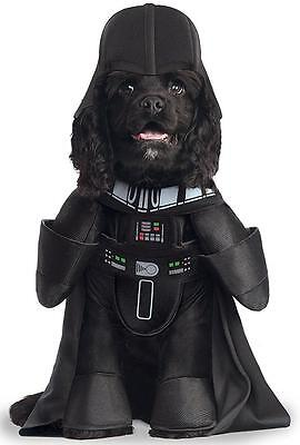 Darth Vader Star Wars Sith Lord Fancy Dress Up Halloween Pet Dog Cat Costume