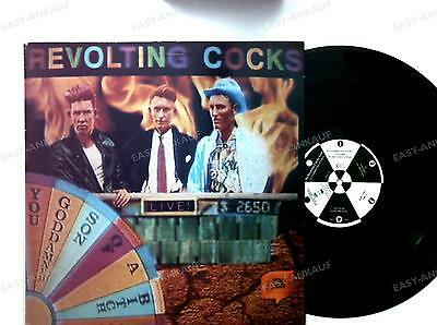 Revolting Cocks-Live! You Goddamned Son Of A Bitch UK 2LP 1988 FOC +Innerbag //1