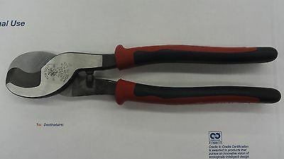 Klein Tools Journeyman 9 in. High-Leverage Cable Cutter J63050SEN NEW!