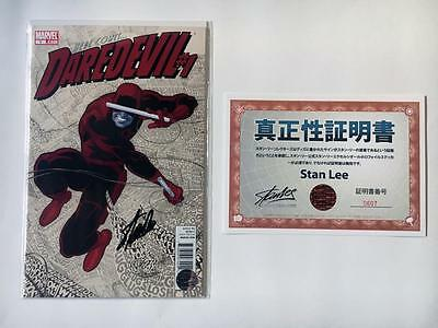 Here Comes Daredevil #1 Signed Stan Lee 1St Issue Man Without Fear Kingpin