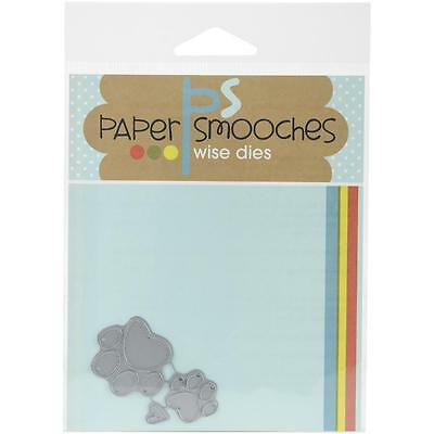 PAPER SMOOCHES CUTTING DIE - PAW PRINT cat dog pet